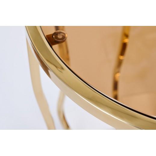 Стол журнальный Garda 13RXET4036-GOLD