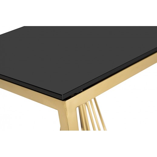 Стол журнальный Garda 13RXET8082L-GOLD