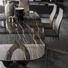 Стол металлический Cattelan Italia Skorpio Keramik