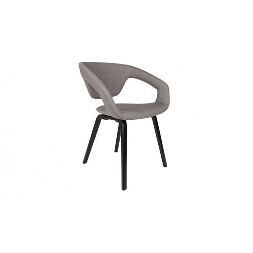 Стул деревянный Zuiver Flexback Armchair