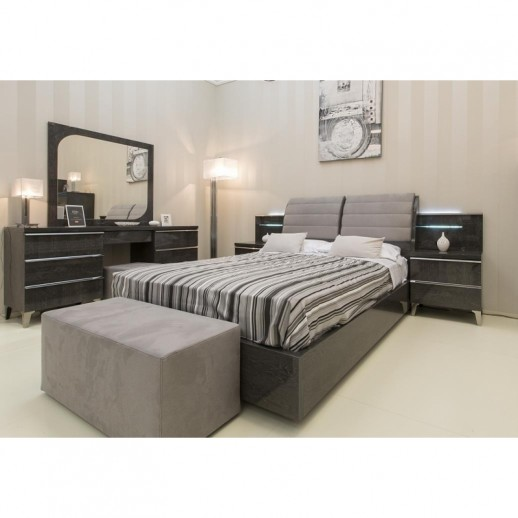 Кровать Status Elite Grey ELBGRLT02 180x203