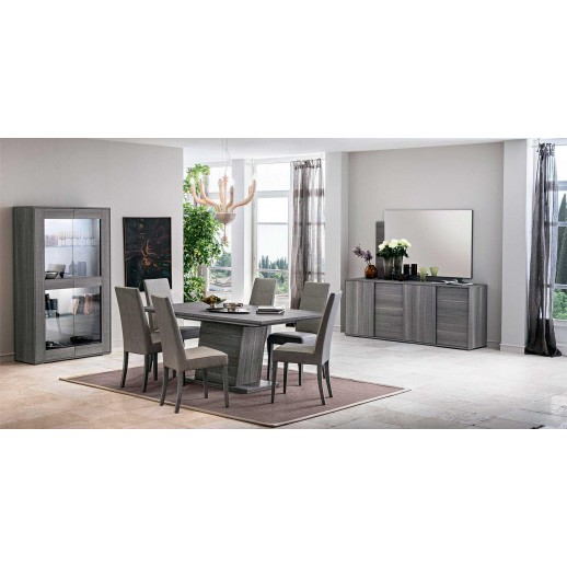 Стол деревянный Status Futura Grey FUDGRTA01 102x180x72