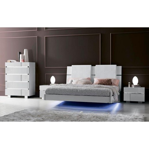 Итальянская спальня Status Caprice White BR