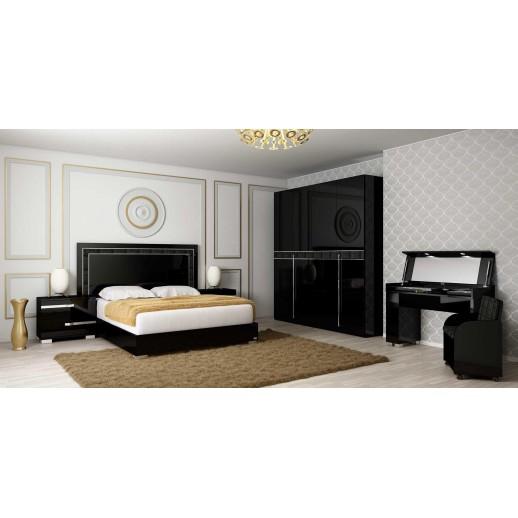 Итальянская спальня Status Volare Black BR