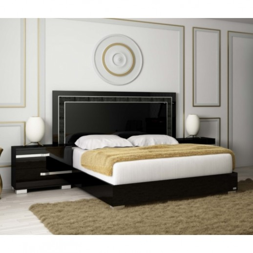 Кровать Status Volare Black VOBBLLT03 180x203