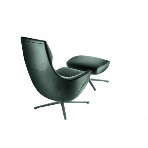 Кресло Poltrona Frau Jay Lounge