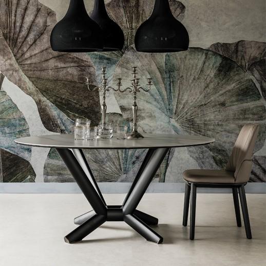 Стол металлический Cattelan Italia Planer Keramik Round
