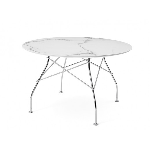 Стол металлический Kartell Glossy 4588