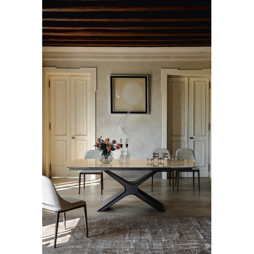 Стол металлический Tonin Casa Calliope 8090FSC-Ceramik 295x100