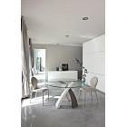 Стол металлический Tonin Casa Eliseo - 8028FSL-Wood D=160