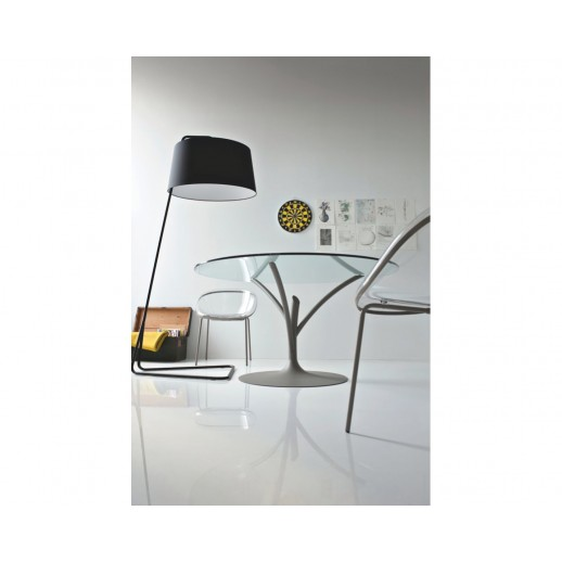 Стол металлический Calligaris Acacia CS/4071-V 120 со стеклом