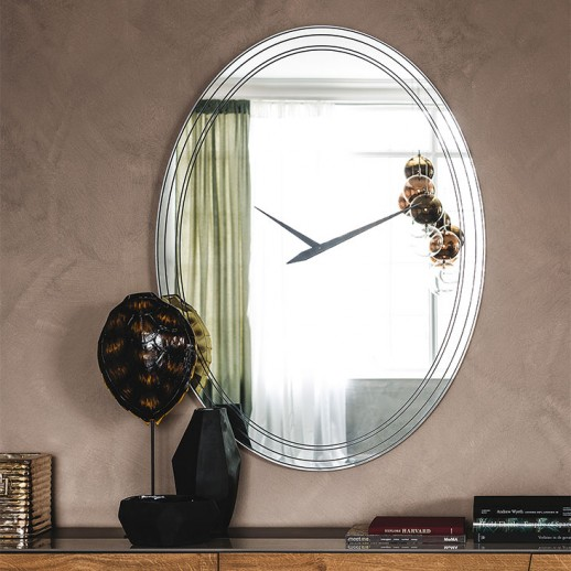 Зеркало часы Cattelan Italia Forever