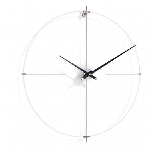 Часы Nomon BILBAO L(white/black), d=110см
