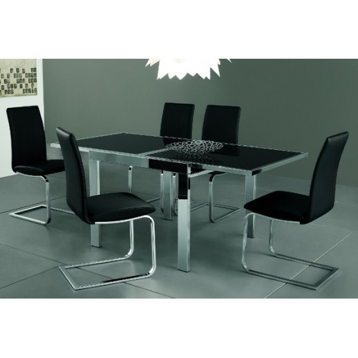 Стол металлический Natisa Treviso 90x120+120