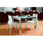 Стол металлический Natisa Treviso2 90x90+90